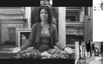 Marianne Mirage/IAM 2020吸って吐いて、そして愛してInspira, espira e …ama. Lo yoga di Marianne Mirage
