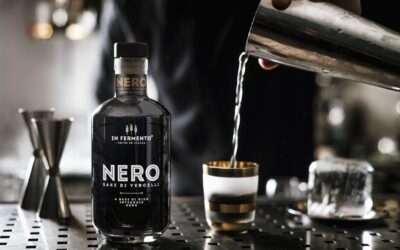 最新グルメ情報11イタリア生まれの黒い酒「サケ・ネーロ SAKE NERO」