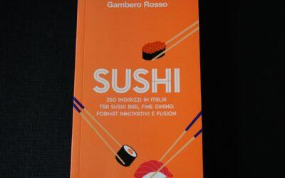 最新グルメ情報30イタリアで初めてのスシ店ガイド、ガンベロ・ロッソより発刊