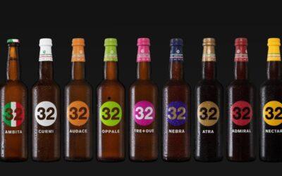 最新グルメ情報35ポップなデザインのクラフト・ビール「トレンタドゥエ・ヴィア・デイ・ビッライ」
